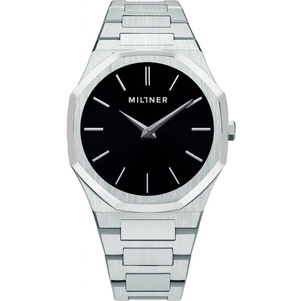 Hodinky Millner Oxford S Silver Black 8425402506165