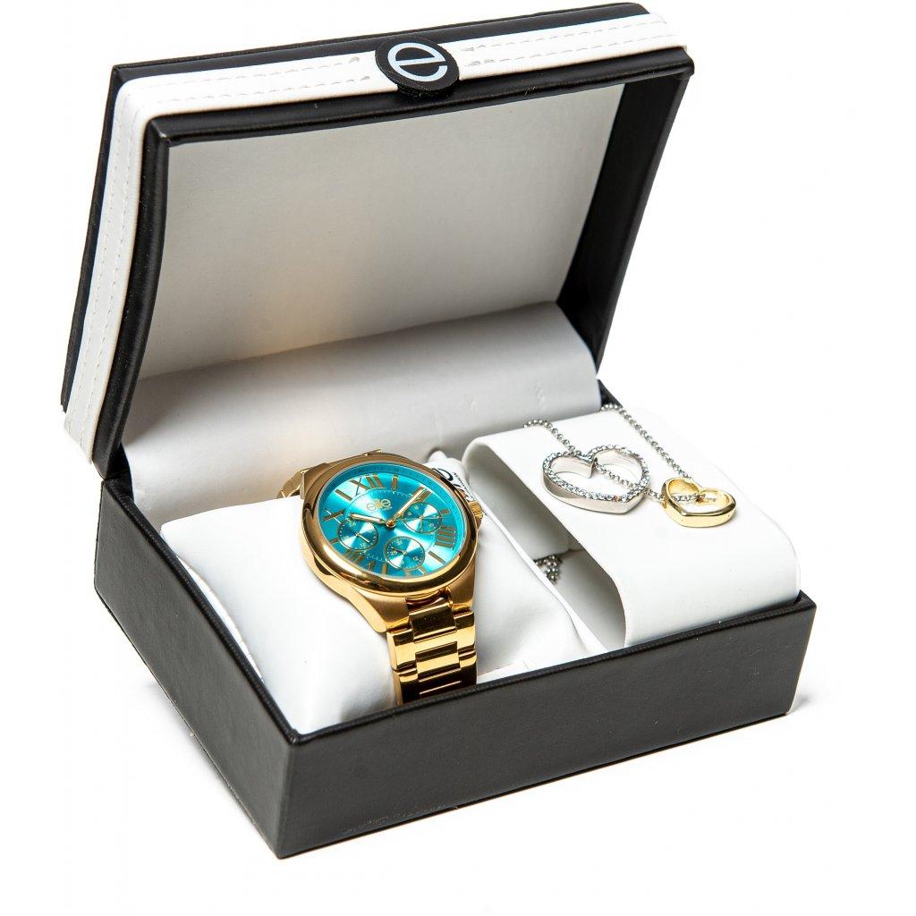 Dárkový set hodinek Elite E54374G/116