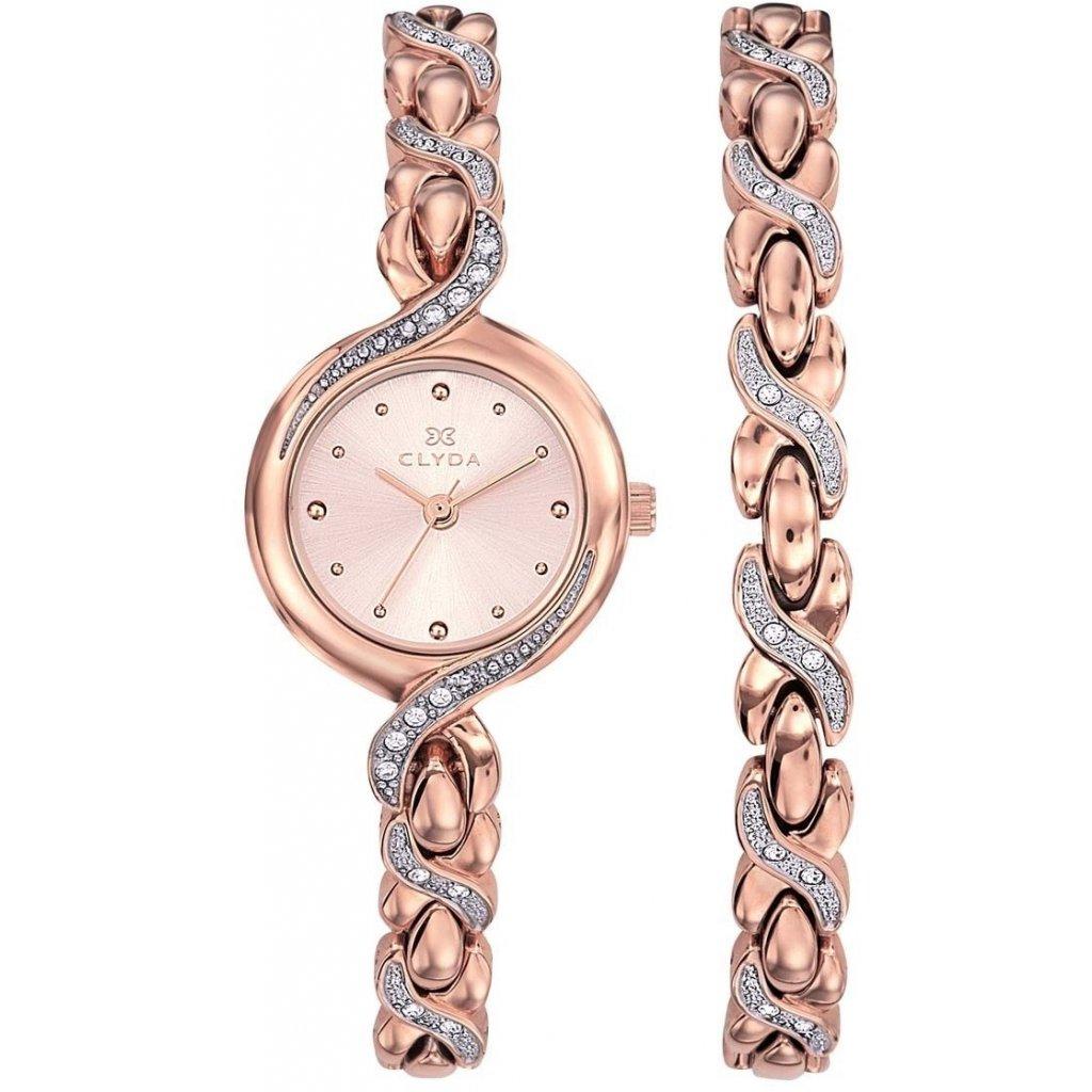 Dárkový set hodinek Clyda CLA0735URPX