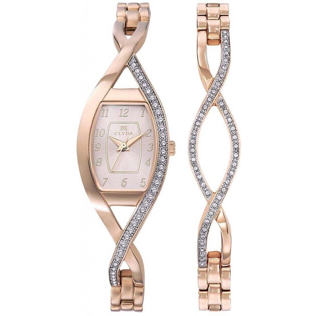 Dárkový set hodinek Clyda CLG0133URAW