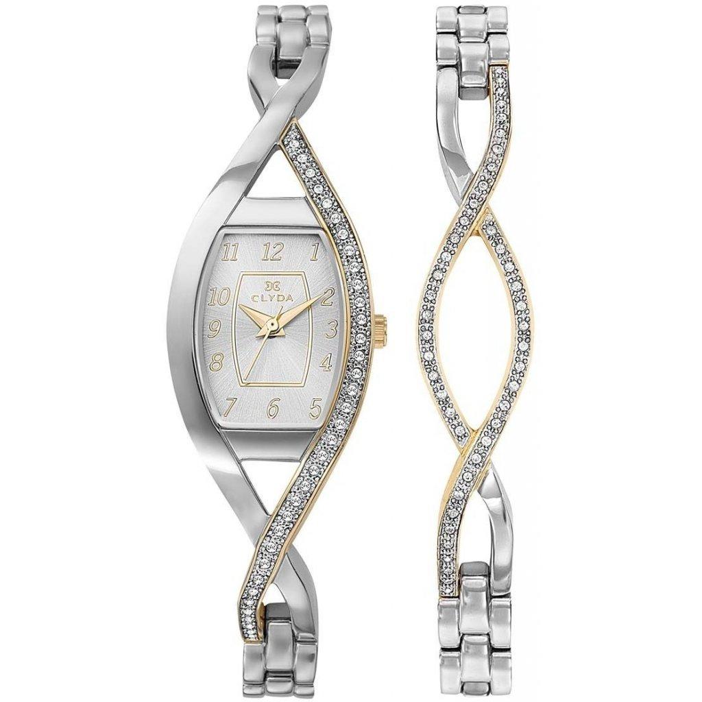 Dárkový set hodinek Clyda CLG0133BBAW