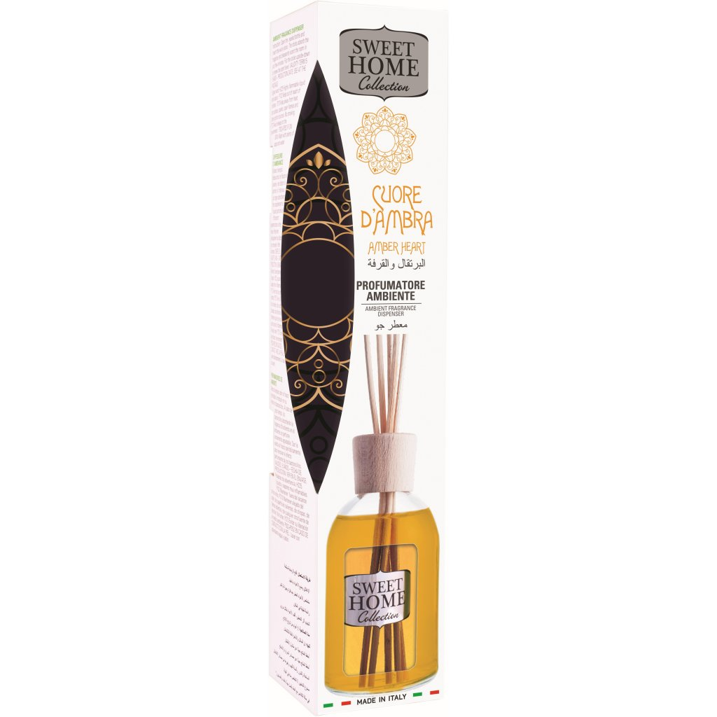 Aroma difuzér Sweet Home Amber Heart 101061