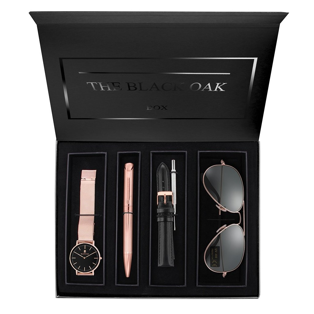 Dárkový set hodinek Black Oak BX97054SET-803
