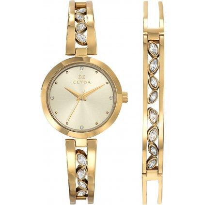 Dárkový set hodinek Clyda CLA0749PTPW