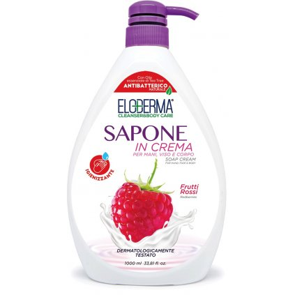 Mýdlo na ruce Eloderma Antibacterial Red Fruits 103822